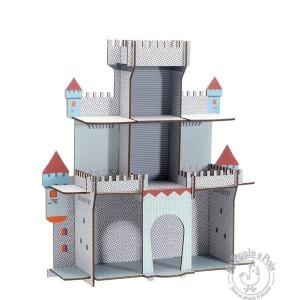 Etagère en bois La citadelle du chevalier - Djeco