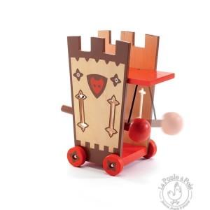 Figurine chevalier Arty Toys Darius & Ze attack tower - Djeco