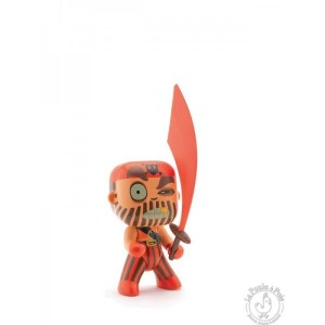 Figurine pirate Arty Toys Captain Red - Djeco