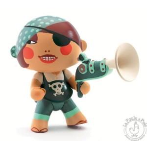 Figurine pirate Arty Toys Caraïba - Djeco