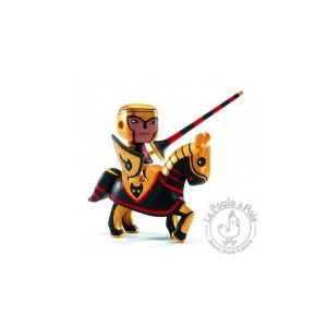 Figurine Arty Toys cheval et chevalier Lord Neka - Djeco