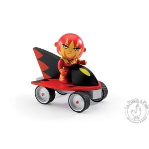 Figurine super héros Arty Toys Firebid & Ze jet- Djeco