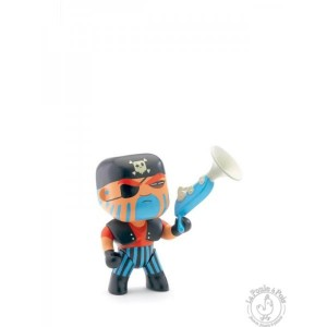 Figurine pirate Arty Toys Jack Skull - Djeco