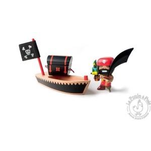 Figurine pirate Arty Toys El loco - Djeco