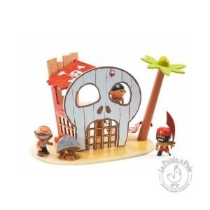 Ile des pirates - Ze pirate island arty toys - Djeco