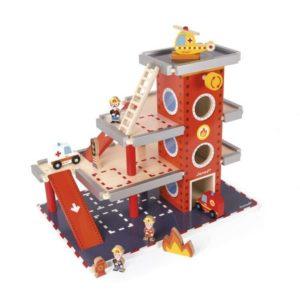 Caserne des pompiers en bois - Janod