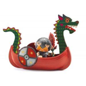 Drack et son drakkar pirate Arty Toys - Djeco