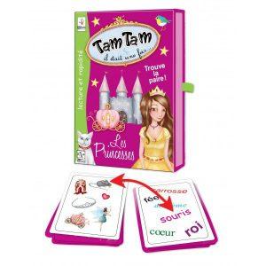 Jeu trouver la paire Princesse Tam Tam