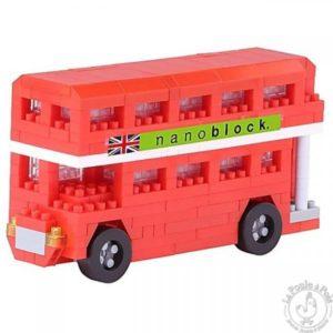 Nanoblock Bus Londonien - Mini jeu de construction