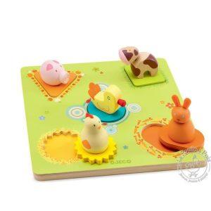 """Puzzle canards et amis """"bildi"""" - Djeco"""