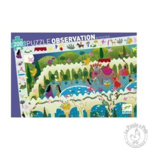 Puzzle d'observation 1001 nuits Djeco