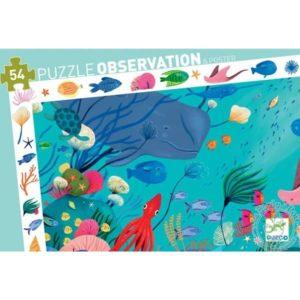 Puzzle d'observation aquatique Djeco