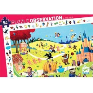 Puzzle d'observation contes Djeco