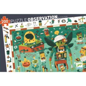 Puzzle d'observation Crazy Lab Djeco