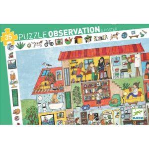 Puzzle d'observation La Maison Djeco