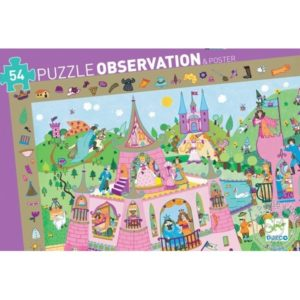 Puzzle d'observation Princesses Djeco