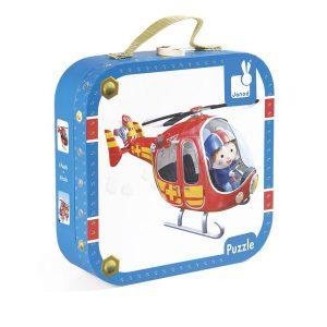 Puzzle l'hélicoptère de Pierre - Janod