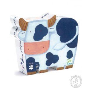 Puzzle vache ferme - Djeco