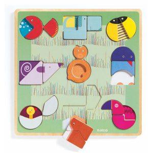 Puzzle Formes et graphismes Ludiform - Djeco