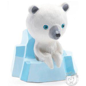 Tirelire en céramique Ours polaire Sur la banquise - Djeco