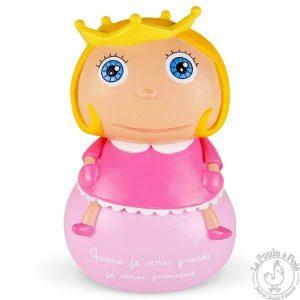Tirelire princesse - Quand je serai grande