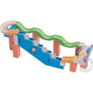 Toboggan à billes escaliers - Wonderworld