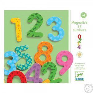 Chiffres nombres magnétiques - Djeco