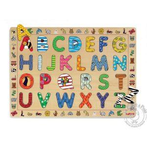Puzzle alphabet en bois - Djeco
