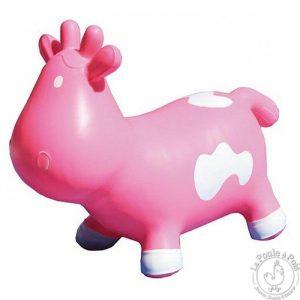 Betsy la vache sauteuse rose - Ballon sauteur