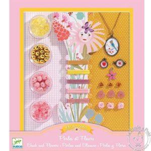 Bijoux à créer perles et fleurs - Djeco
