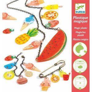 """Bijoux plastique magique """"gourmandises acidulées"""" - Djeco"""