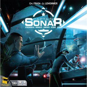 Captain Sonar - Jeu Matagot - Blackrock Games