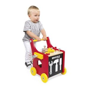 Chariot de marche magnétique bricolo Redmaster - Janod
