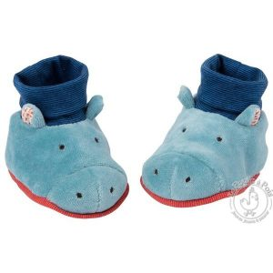 Chaussons hippopotame Les Papoum - Moulin Roty