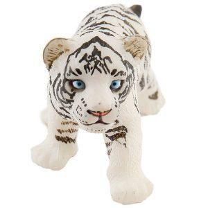 Figurine bébé tigre blanc - Papo