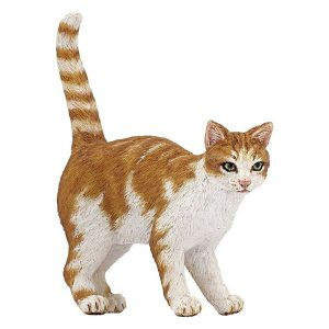 Figurine chat roux - Papo