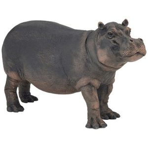 Figurine hippopotame femelle - Papo