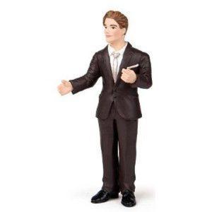 Figurine marié costume - Papo