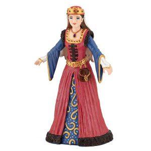 Figurine reine médiévale - Papo