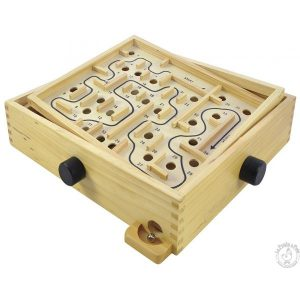 Labyrinthe en bois - jeu d'adresse traditionnel