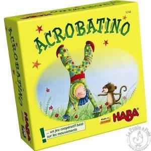 Jeu coopératif Acrobatino - Mini jeu Haba