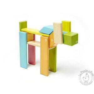 Jeu de construction TEGU blocs en bois magnétique - TEGU