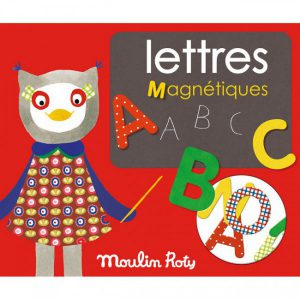 Lettres magnétiques Popipop - Moulin Roty