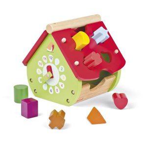 Maison boîte à formes en bois - Janod