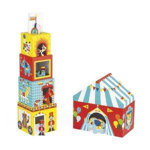 MultiKub cirque jouet à empiler - Janod