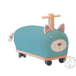 Porteur chat roues folles Les pachats - Moulin Roty