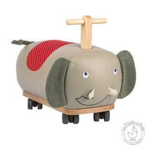 Porteur éléphant roues folles Les popipop - Moulin Roty