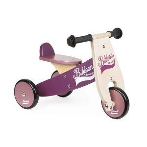 Porteur tricycle Bikloon violet - Janod