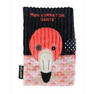 Protège Carnet de santé Flamingos - Les Déglingos