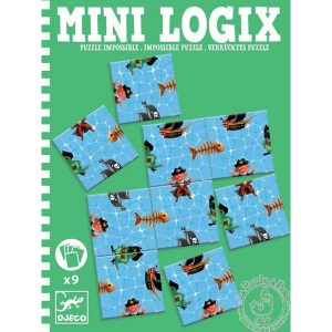 Puzzle impossible des pirates - Mini Logix Djeco